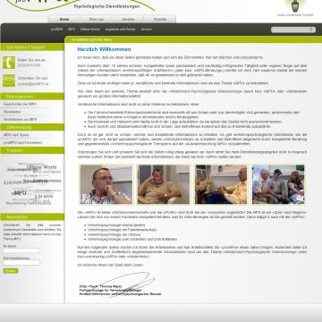 proMpu-Startseite
